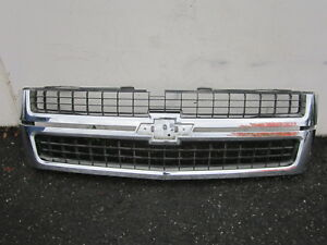 Nn711146 Chevy Silverado 2500 3500 2007 2008 2009 2010 Front Center Grille Oem