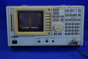 Advantest R3261a Spectrum Analyzer 9 Khz 2 6 Ghz