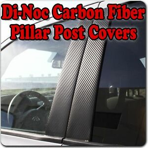 Di Noc Carbon Fiber Pillar Posts For Mitsubishi Outlander Non Sport 03 06 6pc