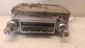 Core Am Radio With Knobs For 1960 Buick Lesabre