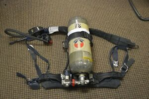 Sperian Panther Air Pack 2002 With Integrated Pass Device With Bottle And Mask