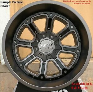 4 New 18 Wheels Rims For Ford F 350 2005 2006 2007 2008 2009 Super Duty 956