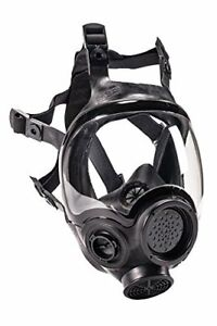 Msa 805414 Hycar Rubber Advantage 1000 Full facepiece Respirator Small