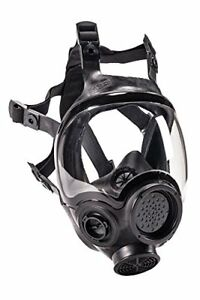 Msa 805420 Hycar Rubber Advantage 1000 Full facepiece Respirator Large