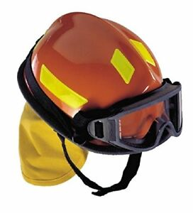 Msa Safety Hp3ddr Cairns Commando Hp3 Composite Fire Helmet Red Red