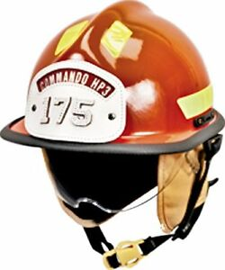 Msa Safety Hp3dsg Cairns Commando Hp3 Composite Fire Helmet With Defender Stand