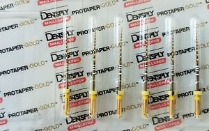 Protaper Gold Rotary Files 31 Mm F1 Dentsply Endodontics Endo