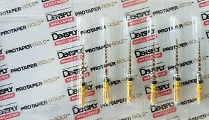 Protaper Gold Rotary Files 21 Mm F5 Dentsply Endodontics Endo