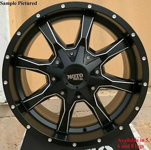4 New 20 Wheels Rims For Ford F 250 2010 2011 2012 2013 2014 Super Duty 967