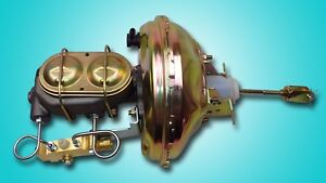 68 72 Gm A Body 11 Inch Power Brake Booster Master Cylinder Proportioning Valve