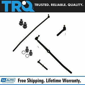 8 Piece Kit Tie Rod Ball Joint Lh Rh Set For Ram 1500 2500 4wd Pickup Truck New