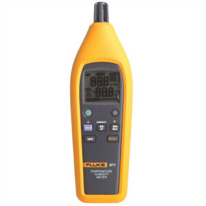 New Fluke 971 Temperature Humidity Meter Tester Psychrometer 99 Record Capacity