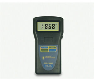Dt 2857 Digital Tachometer Laser Type Photo Contact 2 5 99 999rpm New