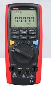Uni t Intelligent Digital Multimeter Tester Usb To Pc True Rms Ut 71e New