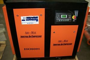 Air max 30 Hp 220 Volt Variable Speed Drive Industrial Rotary Screw Compressor