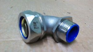 Thomas Betts 5354sst 1 Liquidtite Stainless Steel 90 Degree Connector