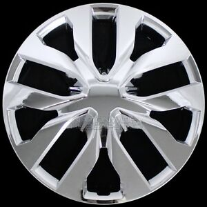 17 Set Of 4 Chrome Wheel Covers Snap On Full Hub Caps Fit R17 Tire