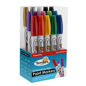 15 Thornton s Extra Fine Oil Based Paint Markers For Rocks Metal Glass Crafts