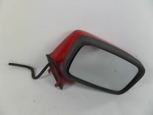 Porsche 944 S Right Door Mirror Red 85 5 91 Oem 928 731 024 06