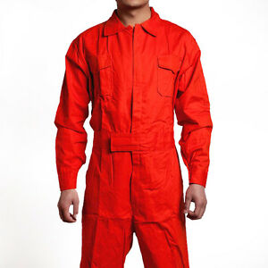 Men s Coveralls Overall Mechanic Protective Air Force Flight Work Suit Uniform