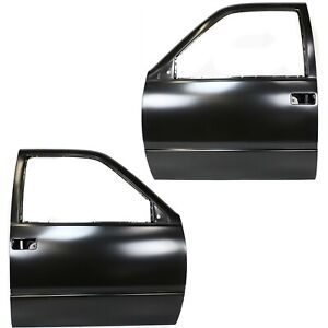 Door Shell Set For 88 98 Chevy C1500 1988 2000 K2500 99 2000 Escalade Front 2pc