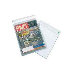 thornton s Clear View Poly Envelopes 9 X 12 Clear white 500