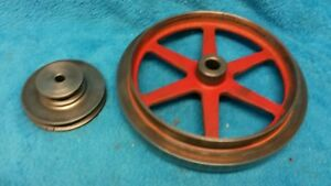 Counter Shaft Double Pulley Motor Pulley 10 Ward Logan Metal Lathe 04tlc 700a