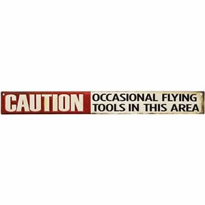 Vintage Style Flying Tools Metal Signs Man Cave Garage Retro Decor 69