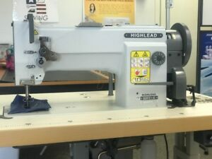 Highlead Gc0618 1sc Heavy Duty Walking Foot Sewing Machine W Safety Clutch New