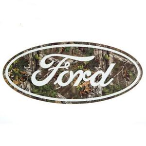 Ford Mossy Oak Style Vintage Style Metal Signs Man Cave Garage Decor 69
