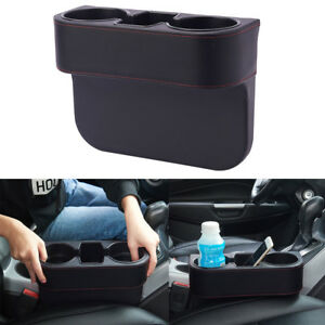 Car Seat Organizer Storage Leather Cup Drink Phone Holder Pocket Multifunctional