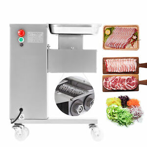 110v 500kg Output Meat Cutting Machine Meat Slicer With One Set Blade Cutter