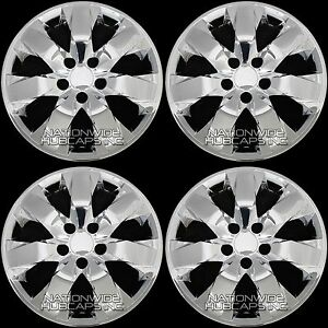 4 New Chrome 2008 09 10 Honda Accord 17 Wheel Skins Hub Caps Alloy Rim Covers
