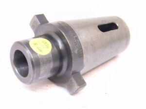 Used Kwik Switch 400 Universal Engineering Mt3 Morse Taper Adapter 80429 Mta