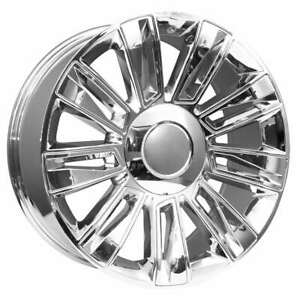 22 Cadillac Escalade Oem Factory Style Chrome Wheels Rims