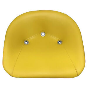 Yellow Padded Pan Seat John Deere Lawn And Garden Tractors Ts1200