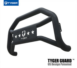 Tyger For 99 04 Ford Super Duty 00 04 Excursion Black Textured Bumper Bull Bar