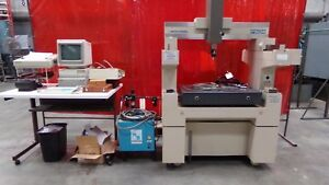 Mitutoyo F604 Coordinate Measuring Machine With Air Dryer And Accessories