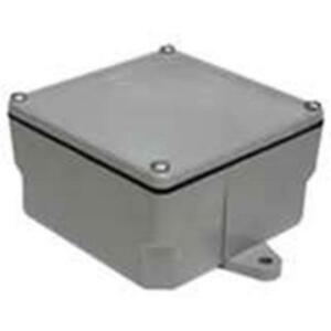 Electrical Enclosure Junction Box Secure Wire Conduits Splices Surface Mounted