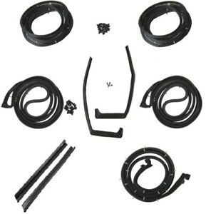 1959 1960 Chevrolet Pontiac 4dr Wagon Body Weatherstrip Seal Kit