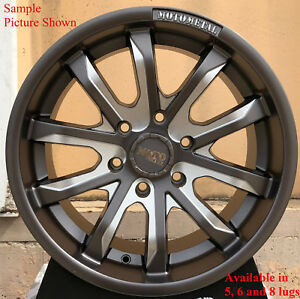 4 New 18 Wheels Rims For Ford Expedition Lincoln Navigator Mark Lt 2446