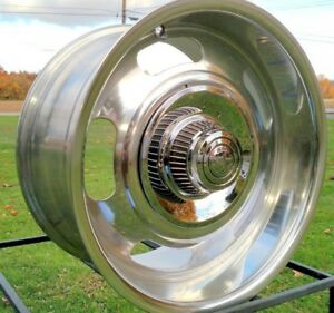 1 20x8 American Racing Rally Vn506 Polished 5 Lug Chevy Gm 5x4 75 5x5 Blanks