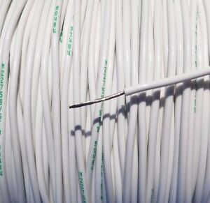 250 Foot 18 Awg Gauge Copper Nickel Wire Teflon Ptfe High Temp Stranded Cable