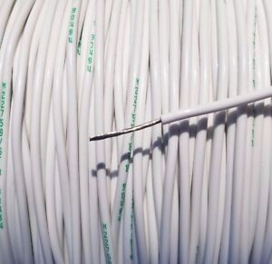 500 Foot 18 Awg Gauge Copper Nickel Wire Teflon Ptfe High Temp Stranded Cable