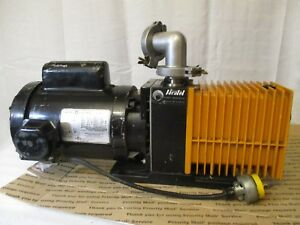 Alcatel Vacuum Pump 42773 3 4hp M20 12a Ge Motor 5kc45rg1181 115 230v France usa
