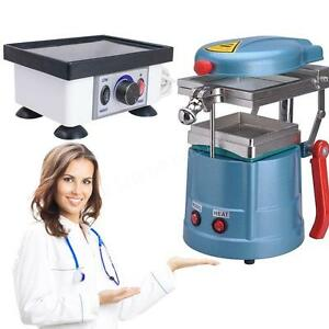 Dental Vacuum Former Forming Molding Machine Square Vibrator Model Oscillator