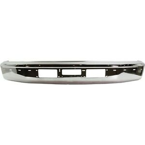 Front Bumper For 95 97 Ford F 250 92 96 Bronco Chrome Steel