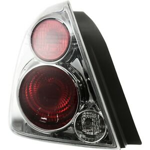 New Tail Light Smoked For 2005 2006 Nissan Altima Driver Side S Se Sl 26555zb025