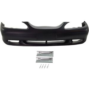 Bumper Cover For 1994 1998 Ford Mustang Front With Fog Light Holes F4zz17d957a