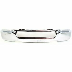 Front Bumper Face Bar Chrome W o Fl For 2004 2005 Ford F 150 Up To 8 8 05